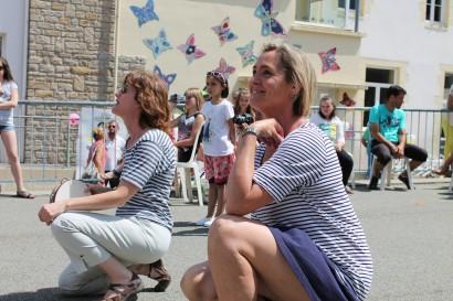 Danielle et Jacqueline, les institutrices de CM1 supervisent !
