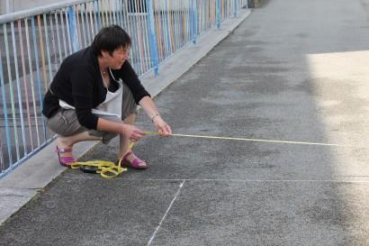 Préparation de la zone multi-sports